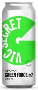 Croma Green Force #7 Vic Secret - Lata 473ml
